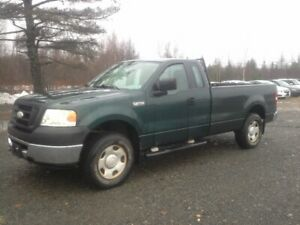 2007 FORD F-150 4X4 !! WORK TRUCK !! 8 FOOT BOX !!