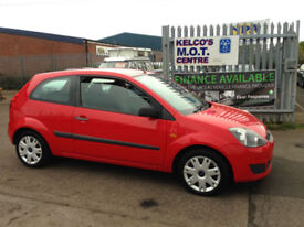 Ford Fiesta 1.25 2006.5MY Style Climate ONE OWNER 81033 MILES!!