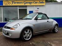 Ford Streetka 1.6 2005.5MY Red 53,705 Miles In Silver