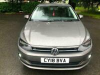 2018 Grey POLO 1.0 SE 5 Dr Hatch Only 9000 Miles Ideal First Car Cheap Insurance