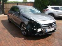 2015 MERCEDES A180 BLUEEFFICENCY SPORT SALVAGE DAMAGED REPAIRABLE DRIVES 1 OWNER