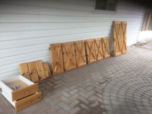 Pine Doors and Drawer Fronts