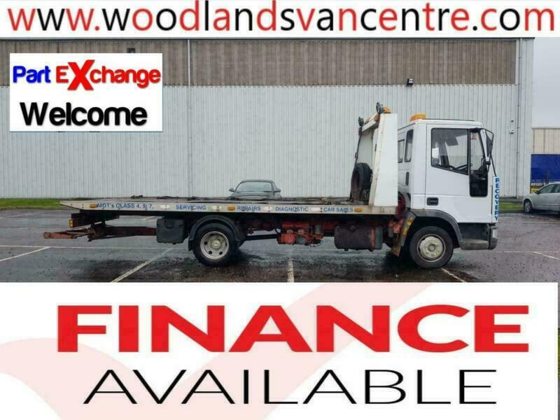 2001 51 PLATE FORD-IVECO CARGO TILT AND SLIDE WITH SPEC RECOVERY TRUCK | in  Kirkcaldy, Fife | Gumtree