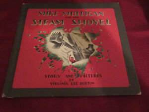 Mike Mulligan and his Steam Shovel - V. L. Burton  HC 1967