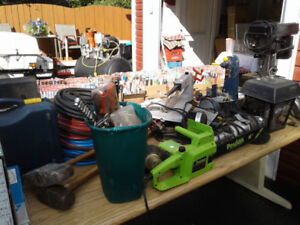 garage sale everything is negotiable and must go
