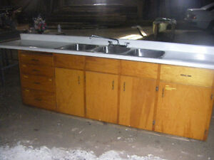 3 Compartment Sink with Cabinet