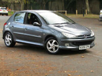 Peugeot 206 1.6 Sport**AUTOMATIC CARS**FSH**ONLY 75,000 MILES**
