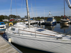 Albin Scampi 30 ft Sailing Yacht REDUCED