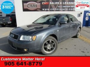 2005 Audi A4 1.8T quattro  AS IS (UNCERTIFIED) AS TRADED IN