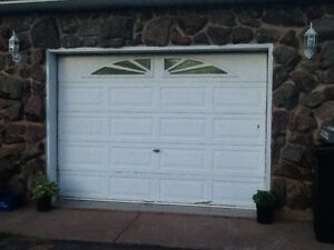 10X7 Garage door and automatic opener