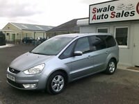 2009 FORD GALAXY ZETEC 2.0TDCi ONLY 63,837 MILES, 7 SEATER