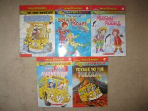 Magic School Bus Kids Chapter Books