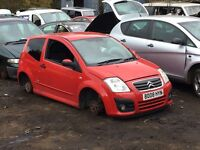 Citroen C2 Vtr 1.6 2008 For Breaking