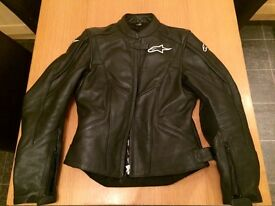 Alpinestars Womens Leather Bike Jacket - Stella TX-1