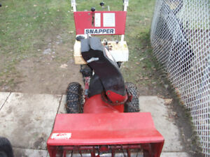 "Snapper 8hp 26"" snowblower"