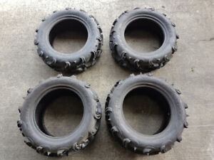 Maxxis Zilla 26x9x14 & 26x11x14 ATV / UTV Tires (Set of 4)