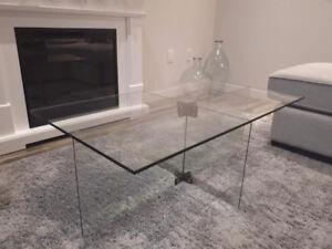 Modern Glass Coffee Table - West Elm