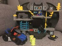 Imaginext Batcave and Batmobile