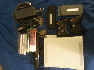 Xbox 360 with Kinect Bundle & Games!