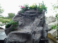 Landscaping Garden Water Features - Pondless Artificial Rock