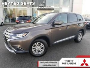 2018 Mitsubishi Outlander ES  - Bluetooth -  Heated Seats