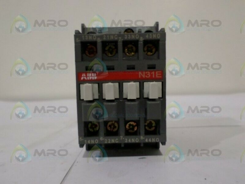 ABB N31E CONTACTOR RELAY *NEW NO BOX*