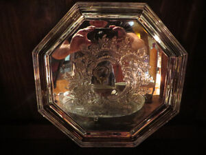 Silver plated octagonal tray by WM.A. ROGERS