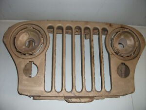1976   JEEP GRILL AND WHEELS