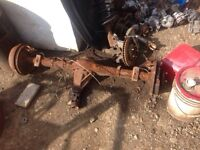 Early 90s Toyota front differential and rear end for sale!!!