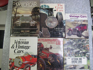 1960's/1970's CAR BOOKS - HARD COVER CHEV/FORD/VINTAGE/DODGE/V W