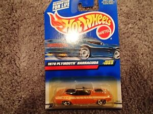 99 Hot Wheels 1970 Plymouth Barracuda - 1999 First Editions 1063