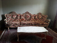 Antique Baroque Style Couch