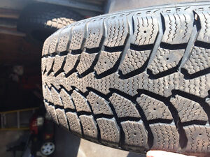 2 Nearly Brand New Winter Tires