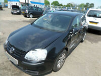 Volkswagen Golf 1.6 FSI SE DAMAGED REPAIRABLE SALVAGE