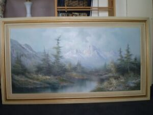 Painting oil large