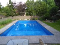 Concrete Services, Pool Renovation/Installations, Water Features