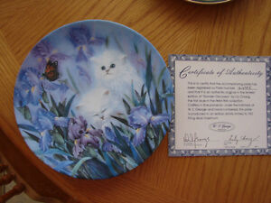 """Garden Discovery"" Collector Plate Belleville Belleville Area image 1"