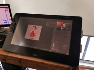Wacom Cintiq 27QHD Touch and Ergo Stand