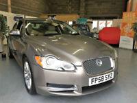 2009 58 Jaguar XF Luxury,Full Leather Trim,Bargain