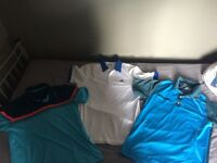 3 x Well branded golf tops (nike, addidas)