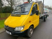 2005 Mercedes-Benz Sprinter 3.5t 313 cdi Recovery truck CHASSIS CAB Diesel Manu
