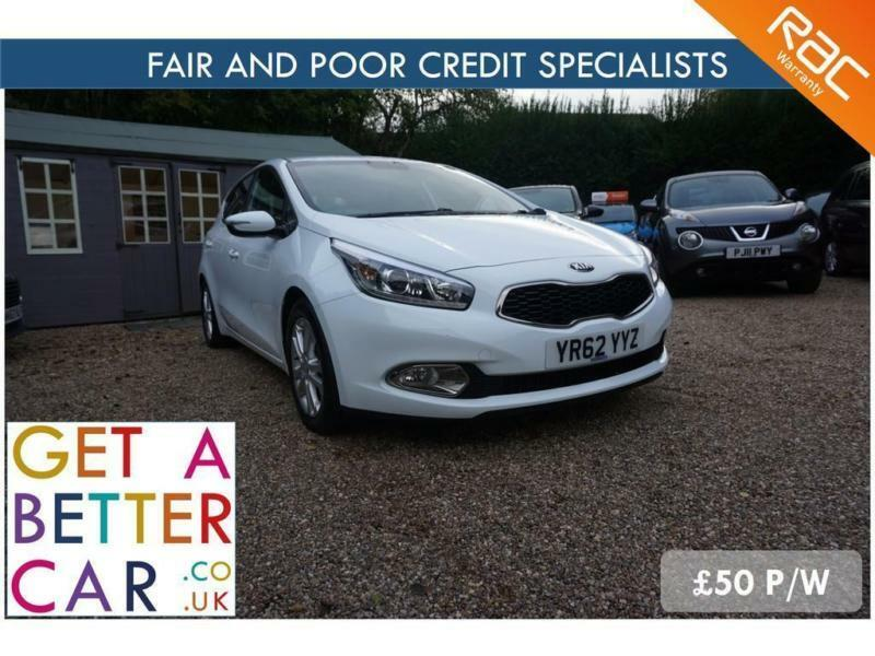 Kia Finance Bad Credit >> Kia Ceed 1 6 Crdi Ecodynamics 62 Reg 45k 50 Pw Fair