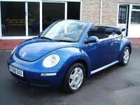 2008 58 Volkswagen Beetle 1.4 Luna Convertible **60k / 1 Owner**