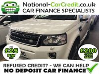 Land Rover Freelander 2.2 SD4 DYNAMIC AUTO Good / Bad Credit Car Finance (white) 2014