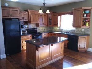 Full Kitchen w/Island For Sale; includes granite counter tops