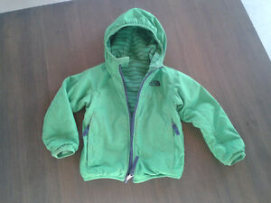 Manteau the north face printemps automne enfant 3 T