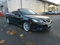 2009 SAAB 9-3 VECTOR SPORT 1.9 TID CONVERTIBLE - LOW MILES - STUNNING EXAMPLE