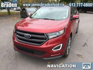 2018 Ford Edge Sport AWD  - Leather Seats -  Cooled Seats