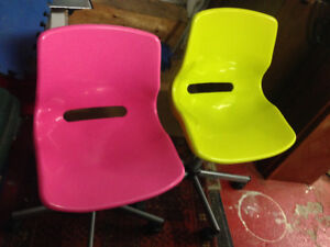 Two kids chairs IKEA Snille 10$ each
