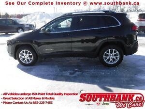 2015 JEEP CHEROKEE NORTH 4X4 HTD SEATS R.CAMERA,